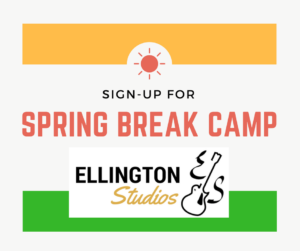 2017 Spring Break Camp @ Ellington Studios | Angier | North Carolina | United States